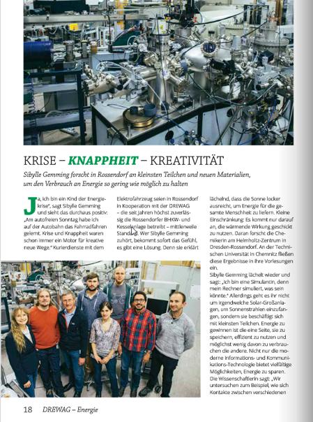 Drewag Magazine June 2015
