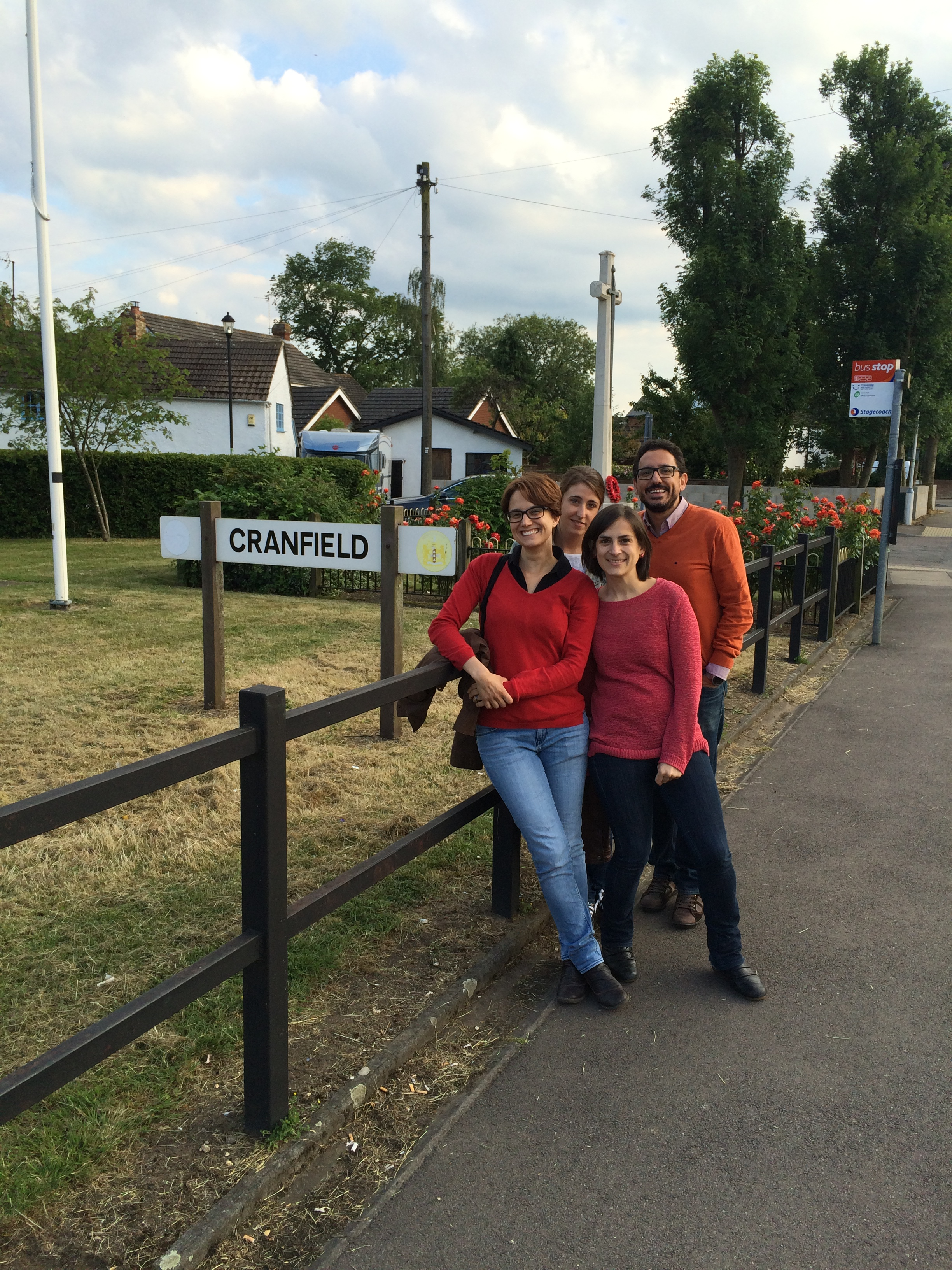 Secondment of Abengoa staff to Cranfield University (June 2015)