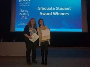 Irene EMRS award1