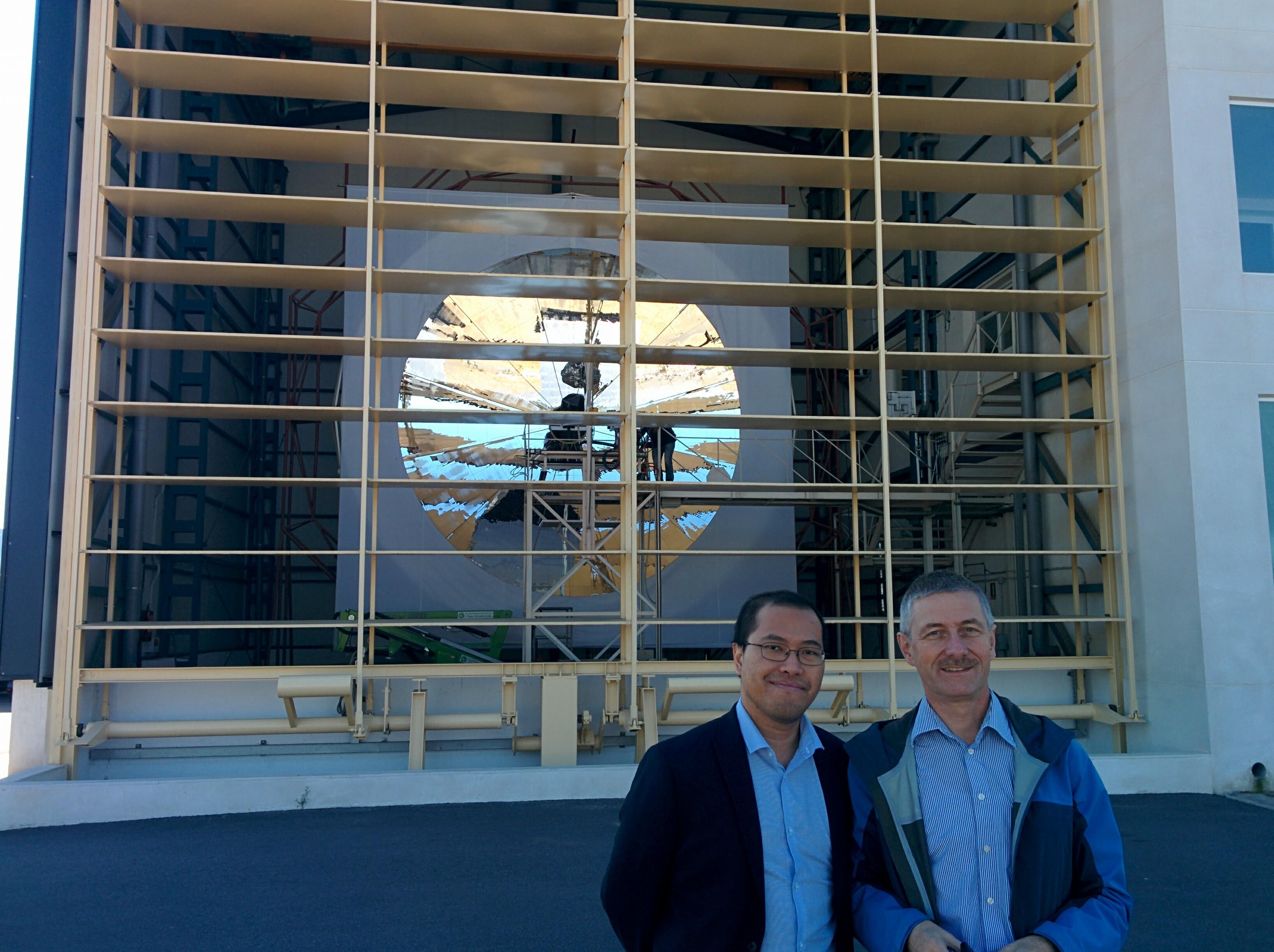 Visit to PSA Almeria